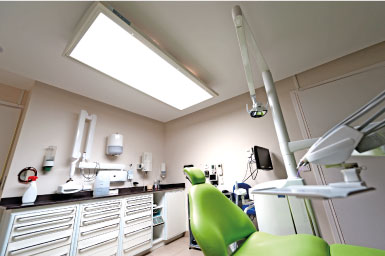 eclairage medical pour chirurgien-dentiste